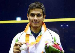 saurav ghoshal awarded best sportsperson of the...