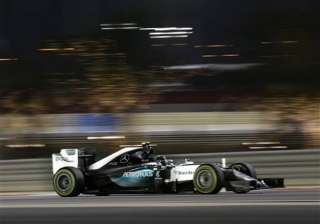 nico rosberg fastest ahead of lewis hamilton in...