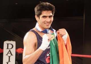boxer vijender singh wants to try his luck for...