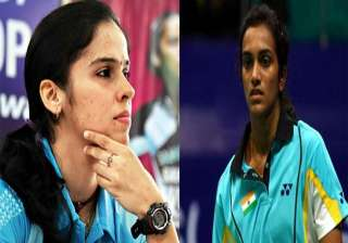 saina nehwal p.v. sindhu ousted from asia...
