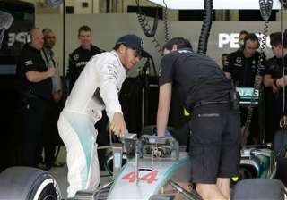 hamilton posts fastest time in 3rd practice at...