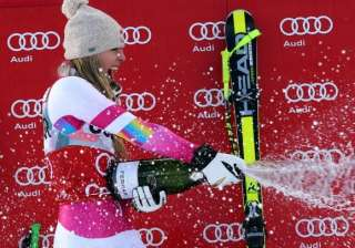 lindsey vonn makes history - India TV