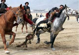 know about buzkashi a game played with headless...