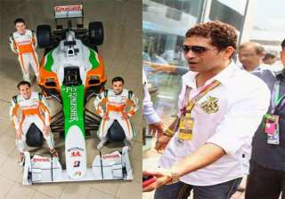 indian grand prix force india to honor sachin...