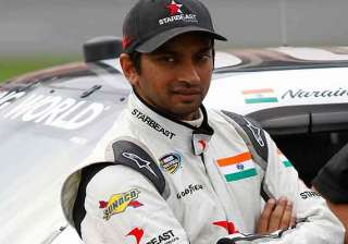 indian grand prix karthikeyan was really fast...