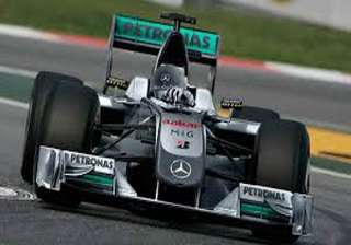 mercedes fastest in practice for f1 malaysian gp....
