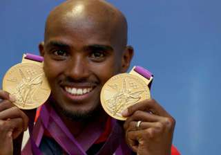 mo farah wins second gold medal at the 2013 world...