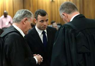 pistorius told me everything is fine security...