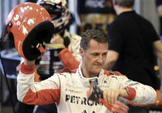 schumacher leaves french hospital out of coma -...