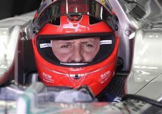 schumacher still in the wake up phase report -...