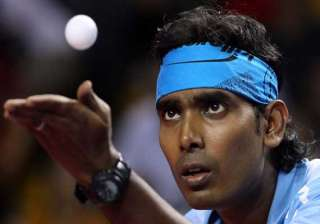 sharath to lead indian tt squad at tokyo worlds -...