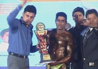 suhas khamkar wins mr india bodybuilding...