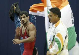 sushil qualifies for london olympics - India TV