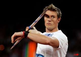 thorkildsen slowed by injury ahead of olympics -...
