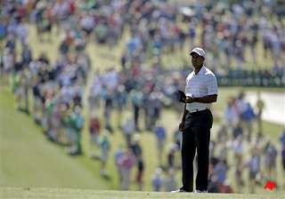 tiger woods birdies 2 early holes at masters -...