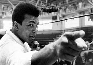 when mohammad ali the boxing legend refused to...