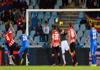 athletic bilbao beats getafe 1 0 in spanish...