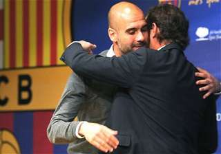 barca players urged guardiola to stay - India TV