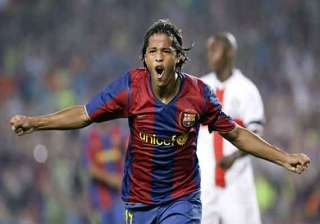 barcelona midfielder dos santos will undergo...