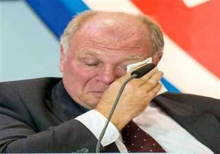 bayern president hoeness on trial for tax evasion...
