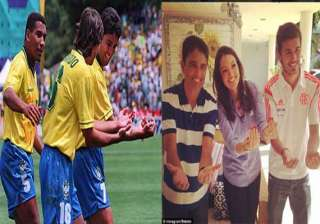 bebeto recreates cradling a baby after 20 years -...