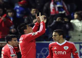 benfica wins 2 1 at feirense in portugal - India...