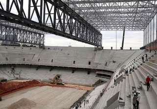 brazil s world cup stadium in new setback. -...
