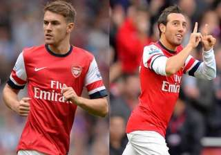 cazorla and ramsey sign new deals with arsenal -...