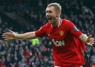 evergreen scholes key to man united title revival...