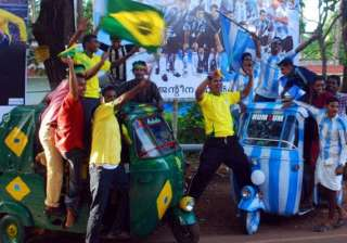 fifa fever indian fans go crazy for the world cup...