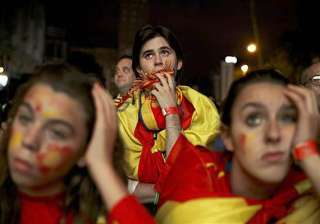 fifa world cup spain fans shocked after 5 1...