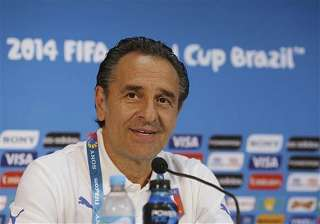 fifa world cup prandelli wary of england s...