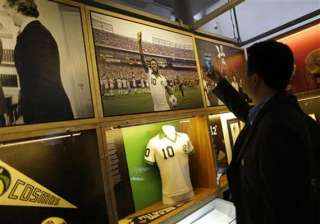 fifa world cup brazil honors pele inaugurates...