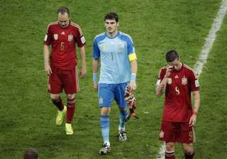 fifa world cup spain not good enough after early...