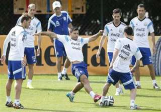 fifa world cup argentina prepare for iran match -...