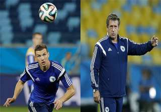 fifa world cup edin dzeko s our messi says bosnia...
