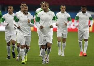 fifa world cup algeria lowers target before south...
