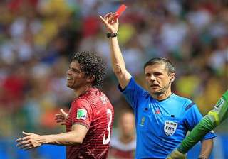 fifa world cup pepe red card hotter on twitter...