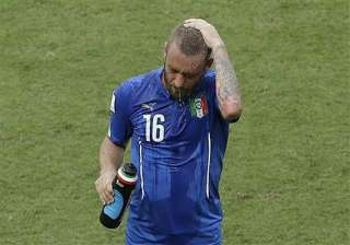 fifa world cup italy s de rossi ruled out of...