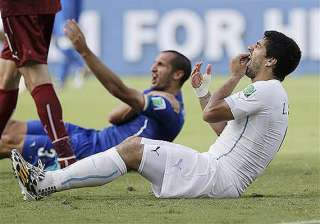 fifa world cup uruguay defends suarez as fifa...