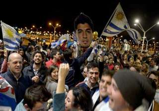 fifa world cup uruguay rages against suarez...