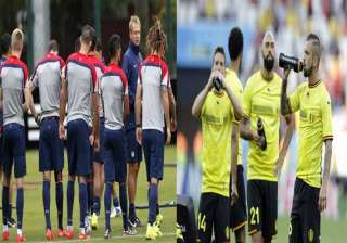 fifa world cup us vs belgium for place in world...