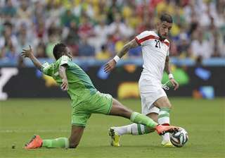 fifa world cup nigeria held 0 0 by iran in world...