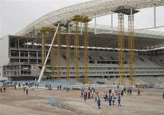 fifa resumes world cup stadium inspections. -...