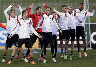 german world cup preparations begin against chile...
