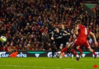 gerrard scores as liverpool beats oldham in fa...