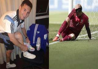 how ronaldo was upstaged by messi once again at...