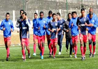i league dempo fc nervous but excited to play...
