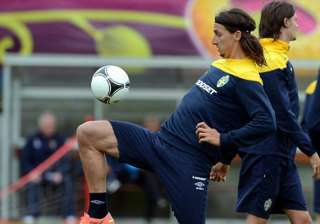 ibrahimovic sits out part of sweden training -...