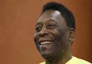 pele says he has recovered after his health scare...